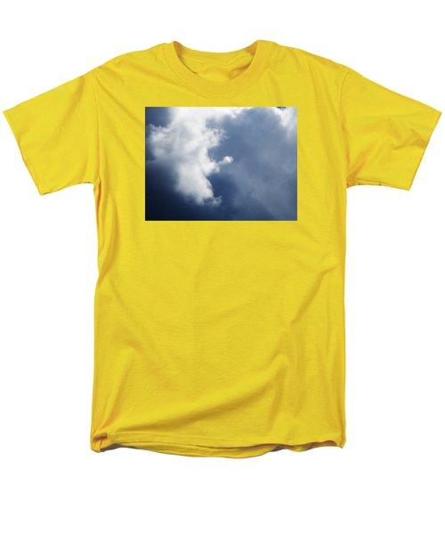 Cloud Angel Kneeling In Prayer Men's T-Shirt  (Regular Fit) by Belinda Lee