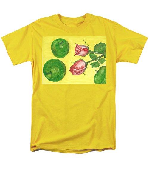 Apples And Roses Men's T-Shirt  (Regular Fit)