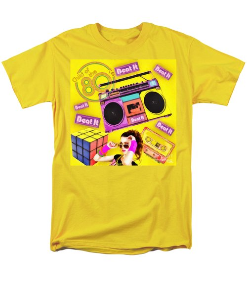 Beat It Men's T-Shirt  (Regular Fit) by Mo T