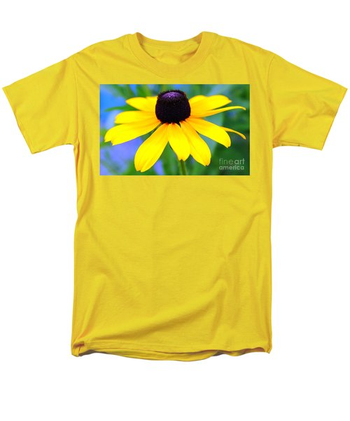 Men's T-Shirt  (Regular Fit) featuring the photograph Black Eyed Susan by Judy Palkimas