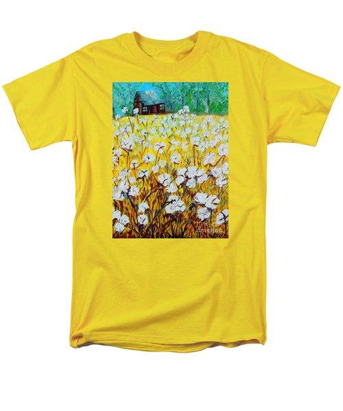 Cotton Fields Back Home Men's T-Shirt  (Regular Fit) by Eloise Schneider