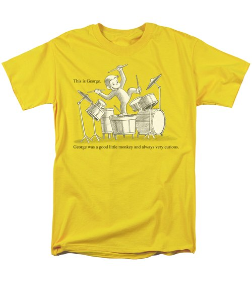 Curious George - This Is George Men's T-Shirt  (Regular Fit) by Brand A