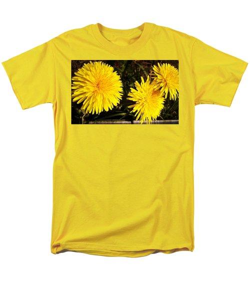 Dandelion Weeds? Men's T-Shirt  (Regular Fit) by Martin Howard