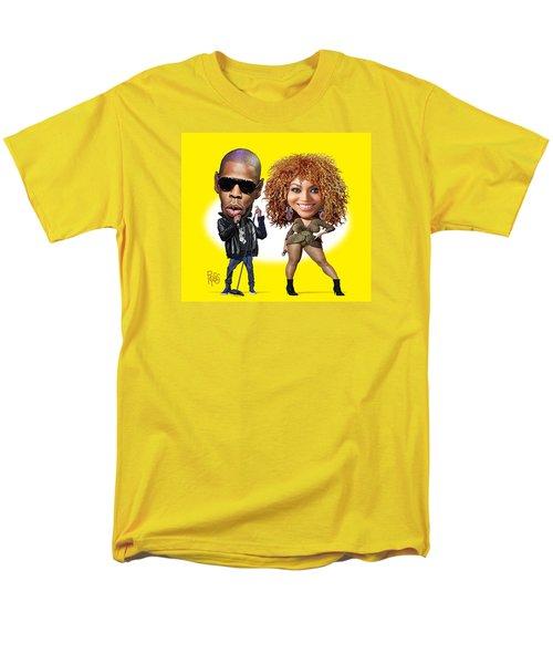 Men's T-Shirt  (Regular Fit) featuring the digital art First Couple by Scott Ross