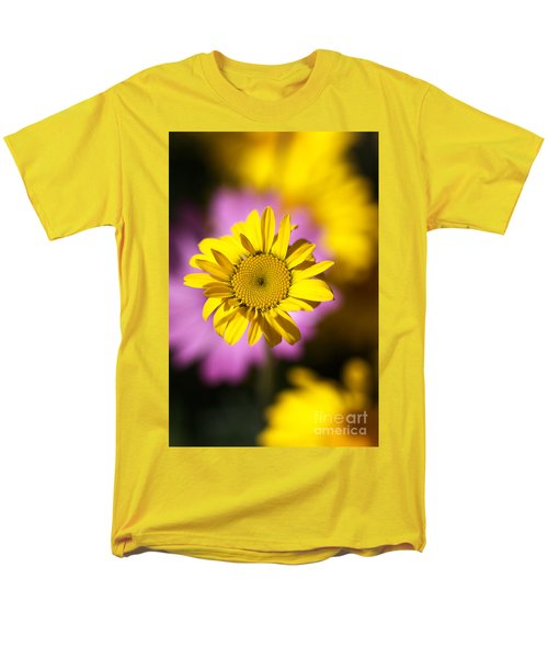 Men's T-Shirt  (Regular Fit) featuring the photograph Floating Daisy by Joy Watson