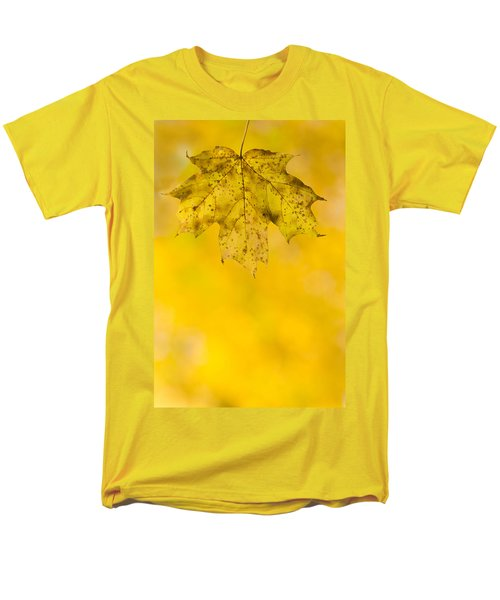 Men's T-Shirt  (Regular Fit) featuring the photograph Golden Autumn by Sebastian Musial