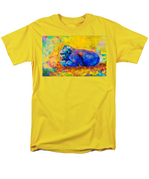 Men's T-Shirt  (Regular Fit) featuring the painting Gorilla by Sean McDunn