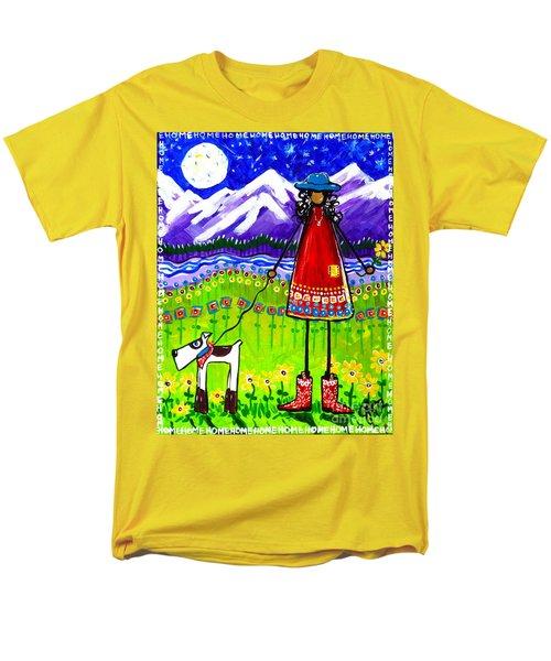 Home Men's T-Shirt  (Regular Fit) by Jackie Carpenter