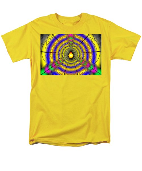 Men's T-Shirt  (Regular Fit) featuring the drawing Infinity Gateway Nine by Derek Gedney