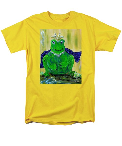 Men's T-Shirt  (Regular Fit) featuring the painting King For A Day by Eloise Schneider