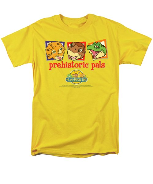 Land Before Time - Prehistoric Pals Men's T-Shirt  (Regular Fit) by Brand A