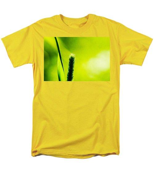 Let World Be Green Men's T-Shirt  (Regular Fit) by Alexander Senin