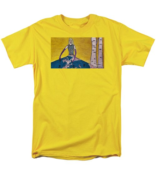 Music World By Jasna Gopic Men's T-Shirt  (Regular Fit) by Jasna Gopic