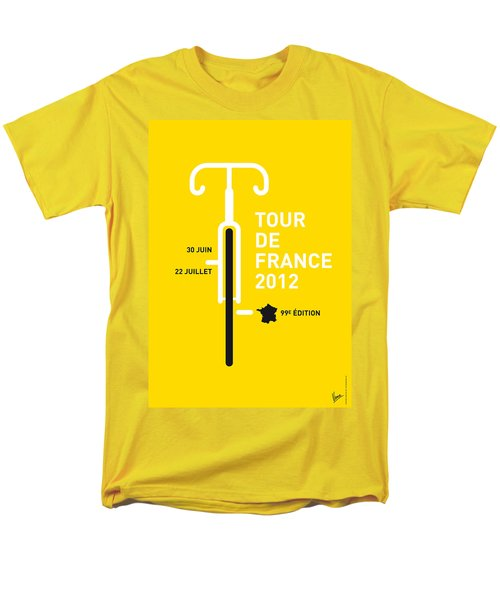 My Tour De France 2012 Minimal Poster Men's T-Shirt  (Regular Fit)