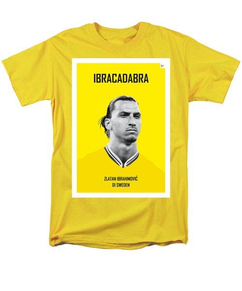 My Zlatan Soccer Legend Poster Men's T-Shirt  (Regular Fit) by Chungkong Art