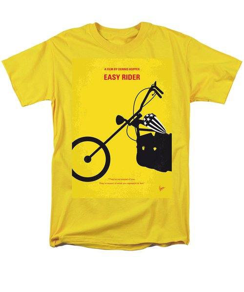No333 My Easy Rider Minimal Movie Poster Men's T-Shirt  (Regular Fit) by Chungkong Art