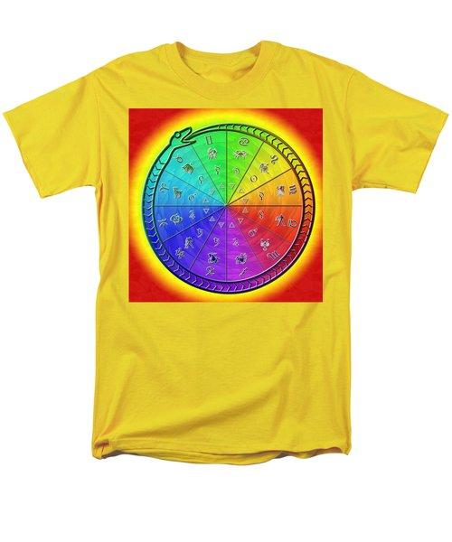 Ouroboros Alchemical Zodiac Men's T-Shirt  (Regular Fit)