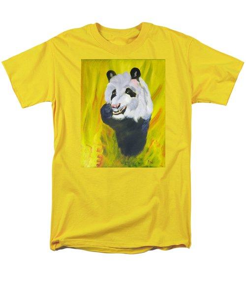 Panda-monium Men's T-Shirt  (Regular Fit) by Meryl Goudey