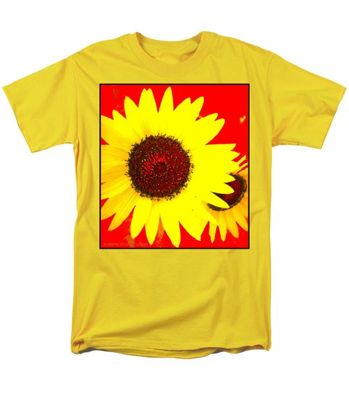 Men's T-Shirt  (Regular Fit) featuring the photograph Peek A Boo by Kathy Barney
