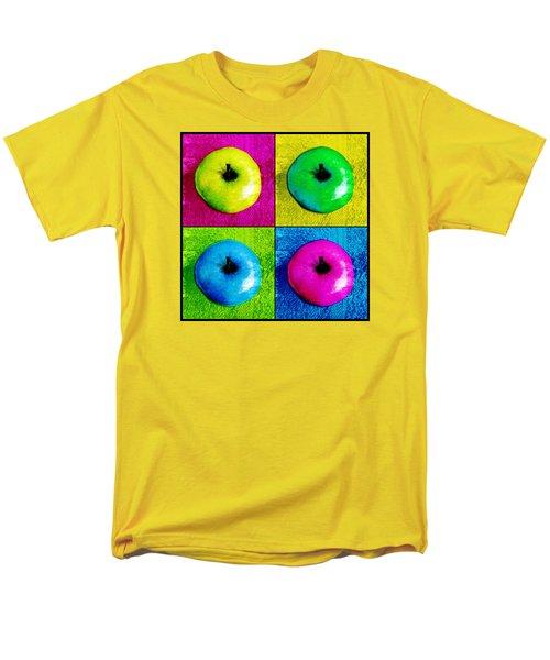 Pop Art Apples Men's T-Shirt  (Regular Fit) by Shawna Rowe
