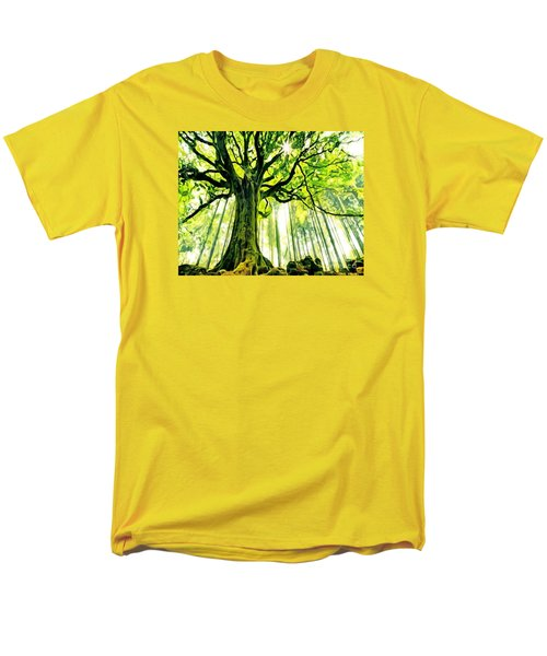 Raised By The Light Men's T-Shirt  (Regular Fit) by Catherine Lott