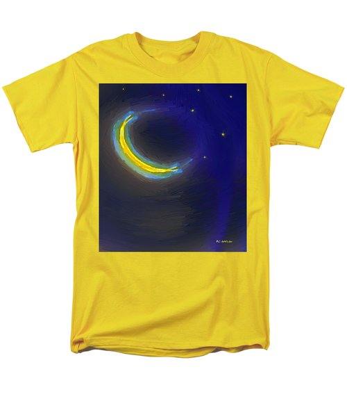 Seven Stars And The Moon Men's T-Shirt  (Regular Fit) by RC deWinter