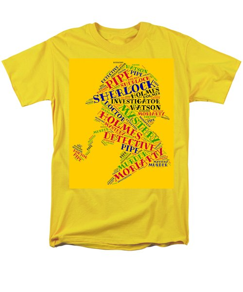 Sherlock Holmes Men's T-Shirt  (Regular Fit) by Bruce Nutting