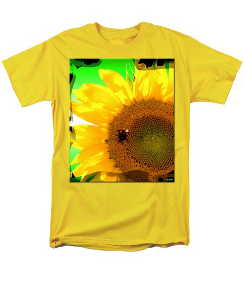 Men's T-Shirt  (Regular Fit) featuring the digital art Sunflower by Daniel Janda