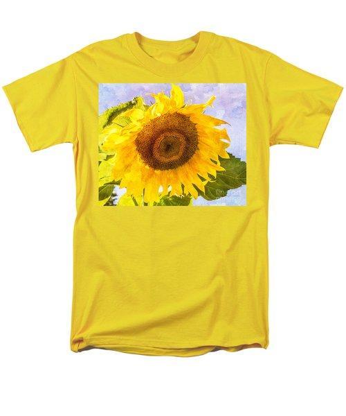 Men's T-Shirt  (Regular Fit) featuring the photograph Sweet Sunflower by Arlene Carmel