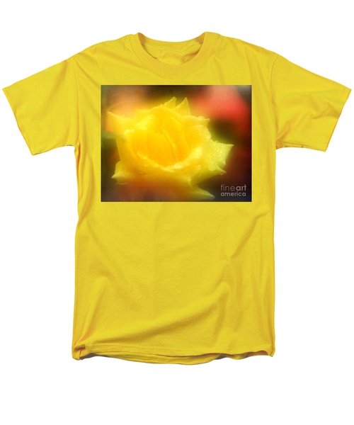 Men's T-Shirt  (Regular Fit) featuring the photograph New Orleans  Yellow Rose Of Tralee by Michael Hoard