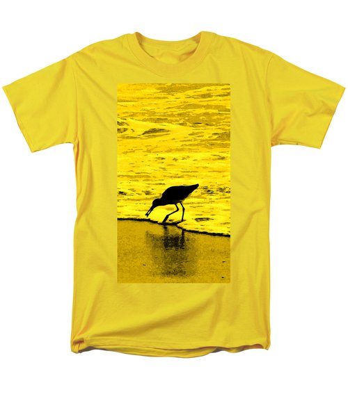 Men's T-Shirt  (Regular Fit) featuring the photograph This Beach Belongs To Me by Ian  MacDonald