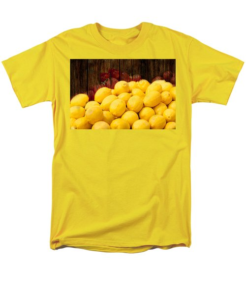 Vitamin C Men's T-Shirt  (Regular Fit) by Gunter Nezhoda