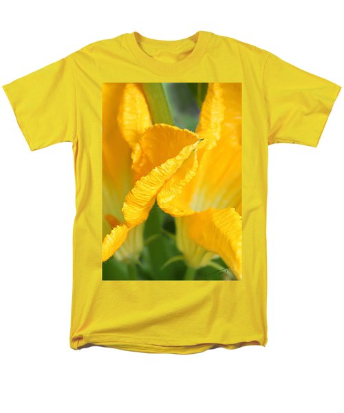 Zucchini Flowers In May Men's T-Shirt  (Regular Fit) by Kume Bryant