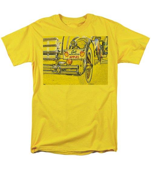 Men's T-Shirt  (Regular Fit) featuring the digital art Eat Washington Apples by Anne Mott