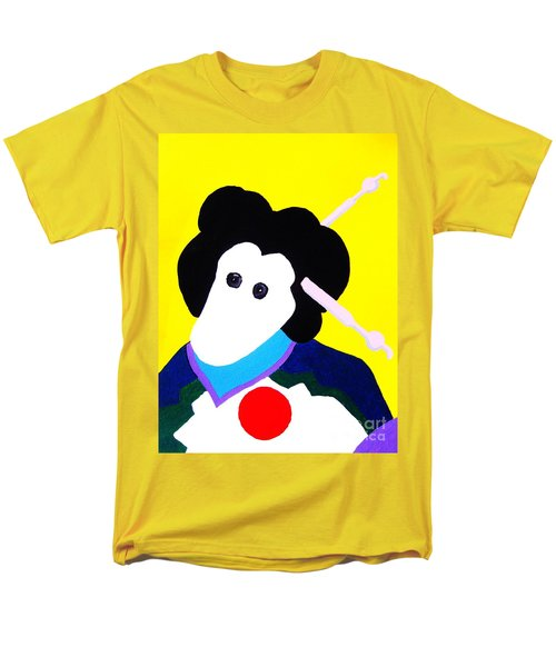 Festival Doll With Shoe Button Eyes Men's T-Shirt  (Regular Fit) by Roberto Prusso