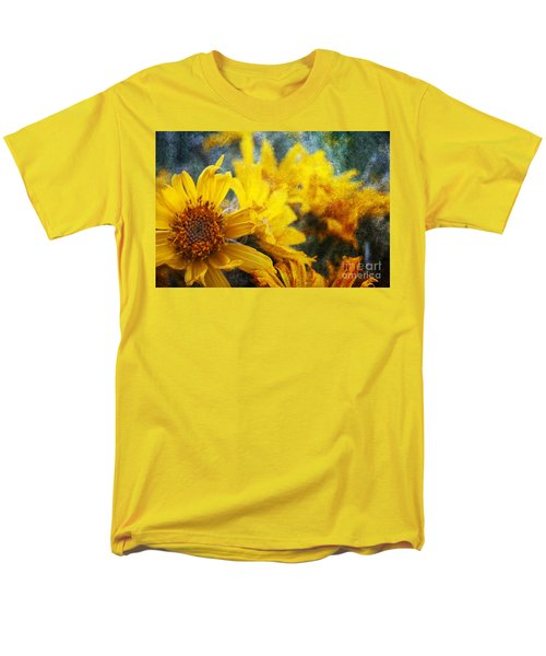 Sunflowers Men's T-Shirt  (Regular Fit) by Alyce Taylor