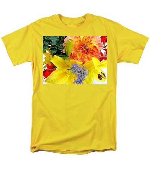Wedding Flowers Men's T-Shirt  (Regular Fit) by Rory Sagner