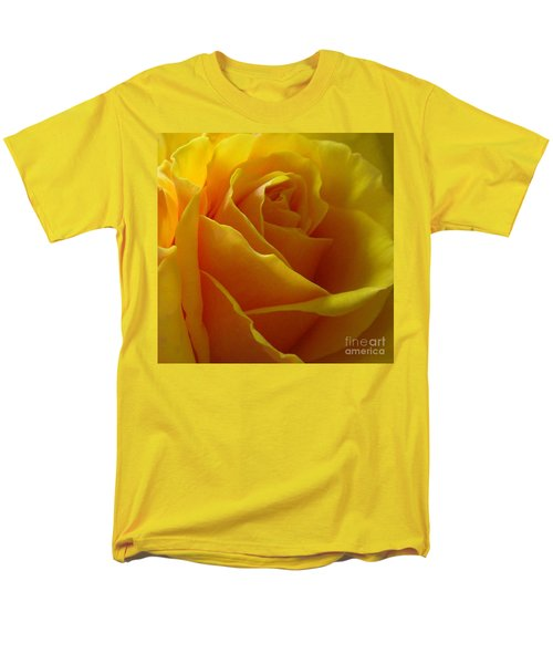 Men's T-Shirt  (Regular Fit) featuring the photograph Yellow Rose Of Texas by Sandra Phryce-Jones