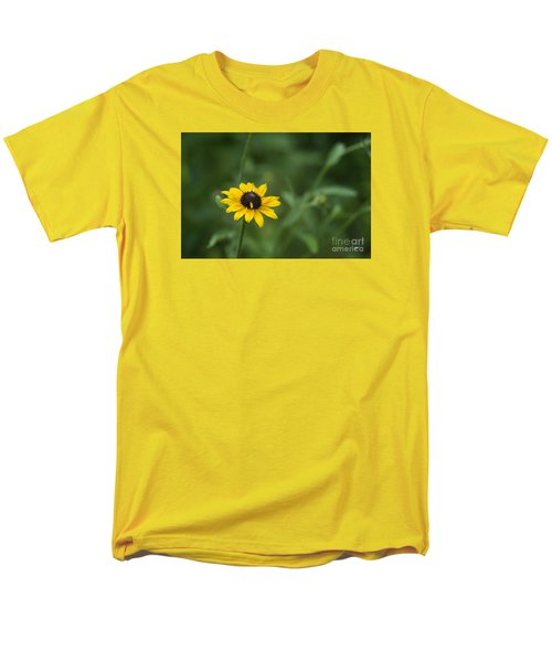 Men's T-Shirt  (Regular Fit) featuring the photograph Black Eye Susan by Alana Ranney