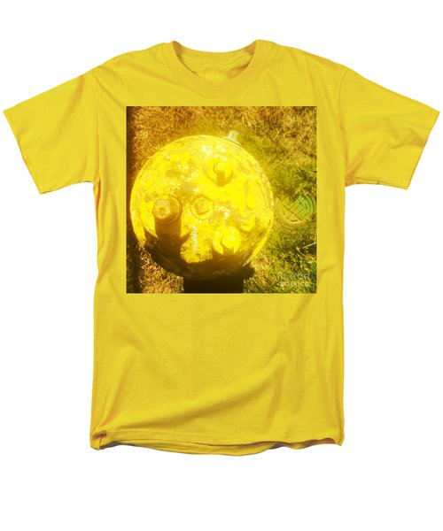 Fire Hydrant #4 Men's T-Shirt  (Regular Fit) by Suzanne Lorenz