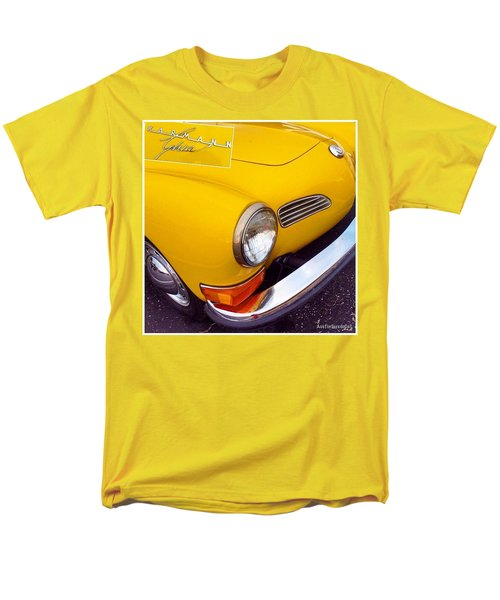 Spotted This #car Today While Men's T-Shirt  (Regular Fit) by Austin Tuxedo Cat