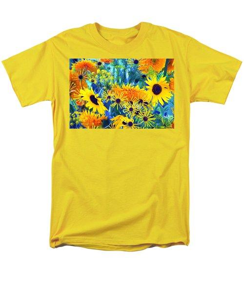 Men's T-Shirt  (Regular Fit) featuring the photograph Summer Bouquet by Byron Varvarigos