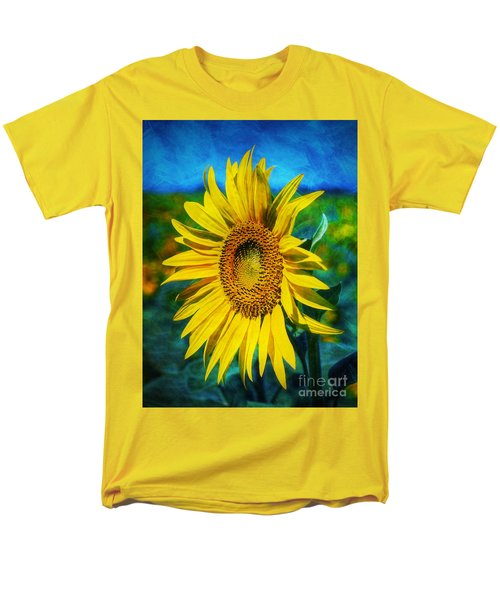 Sunflower Men's T-Shirt  (Regular Fit) by Ian Mitchell
