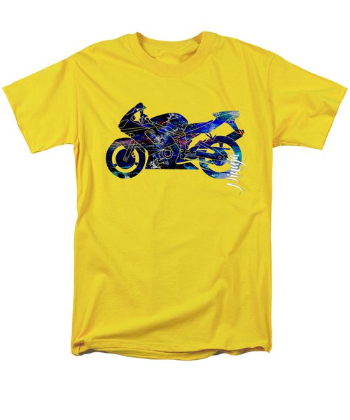 Ninja Motorcycle Men's T-Shirt  (Regular Fit) by Marvin Blaine