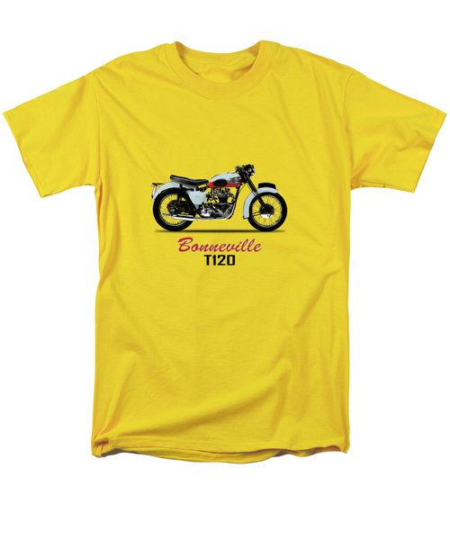1959 T120 Bonneville Men's T-Shirt  (Regular Fit) by Mark Rogan