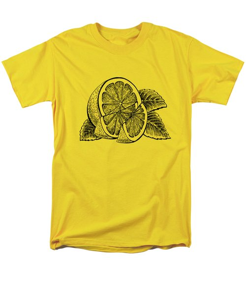 Lemon Men's T-Shirt  (Regular Fit) by Irina Sztukowski
