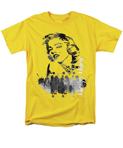 Marilyn Monroe Collection Men's T-Shirt  (Regular Fit) by Marvin Blaine