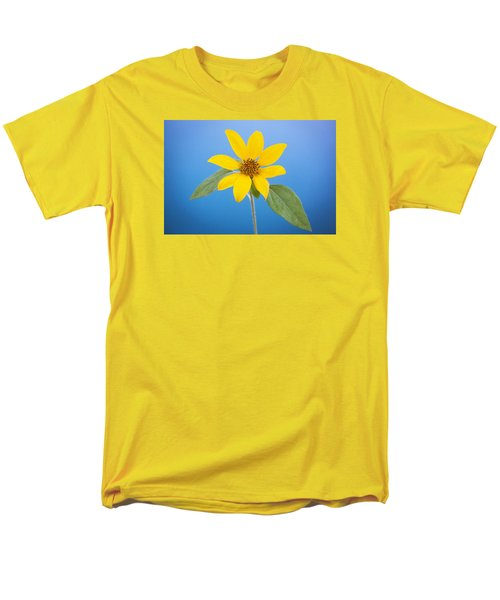 Happy Sunflowers Helianthus  Men's T-Shirt  (Regular Fit) by Rich Franco