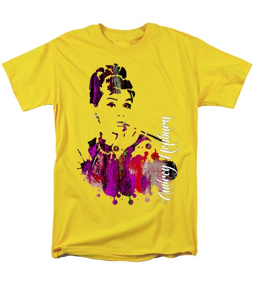 Audrey Hepburn Collection Men's T-Shirt  (Regular Fit) by Marvin Blaine
