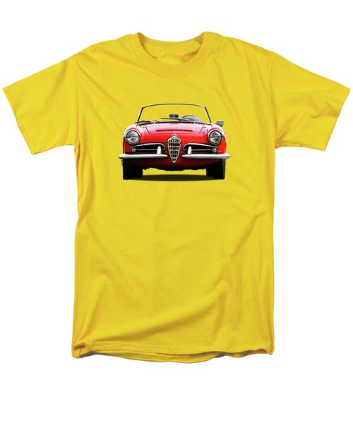 Alfa Romeo Spider Men's T-Shirt  (Regular Fit)